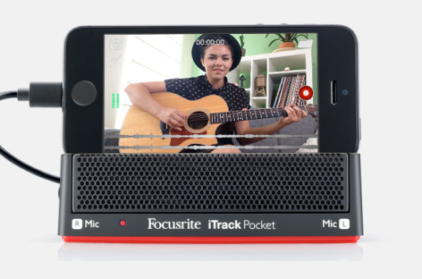 El iTrack Pocket de Focusrite le lleva a YouTube