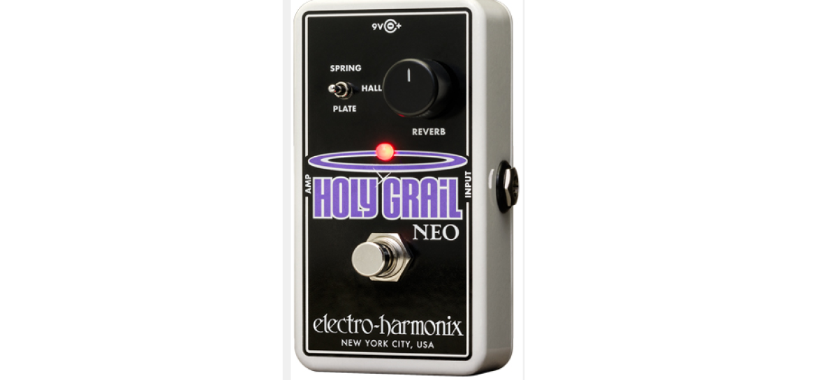 Electro-Harmonix introduce el pedal Holy Grail Neo