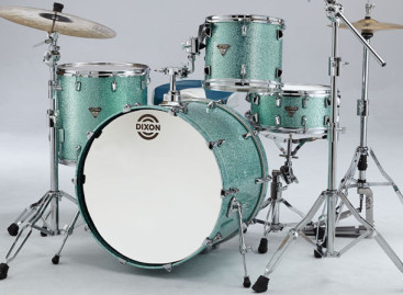 Explorando la batería Dixon Ultra Maple Sea Foam Green Sparkle
