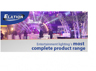 Elation Professional presentará su mayor alineación de productos en Prolight + Sound 2015