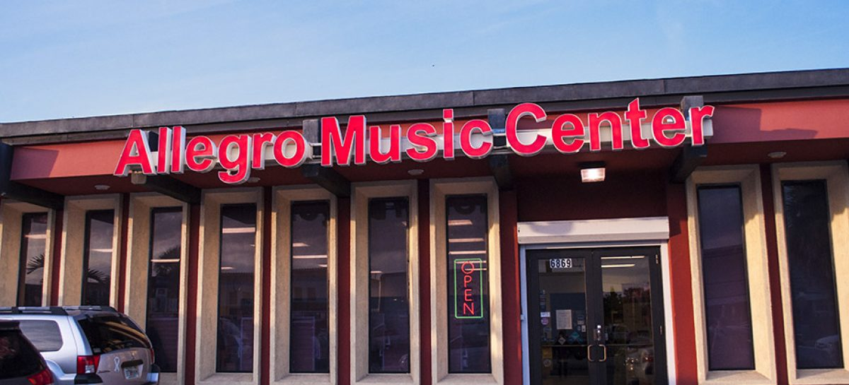 Allegro Music Center con venta desde Miami