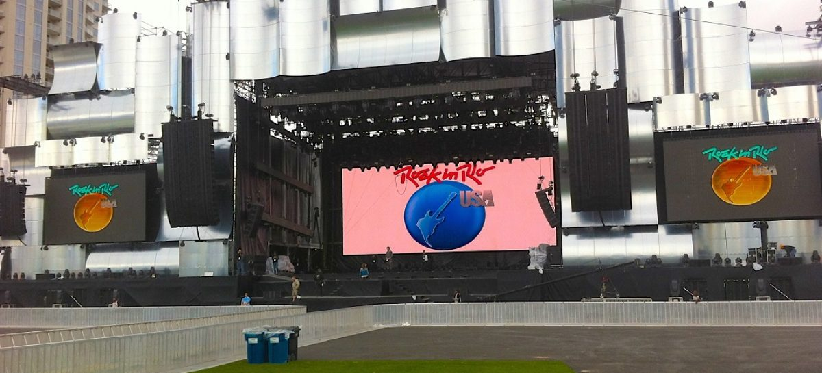 Gabisom Audio proporcionó el audio para Rock in Rio USA