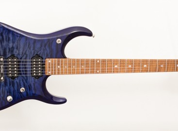 Disponible la guitarra JP15 Blueberry Burst de Music Man