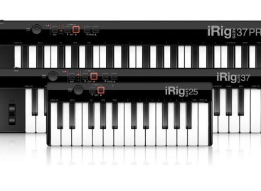 Disponibles controladores iRig Keys USB de IK para Mac y PC