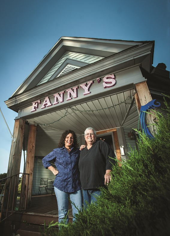 Leigh Maples and Pamela Cole of Fannys