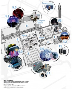 Mapa de Prolight + Sound Frankfurt 2016