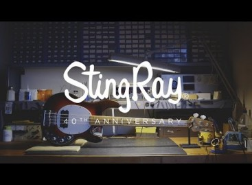 "Ernie Ball trae el bajo 40th Anniversary ""Old Smoothie"" StingRay"