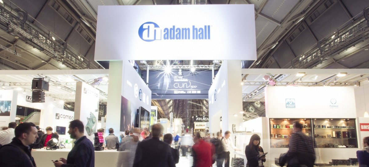 Adam Hall Group gozó de una buena semana en Prolight + Sound y Musikmesse