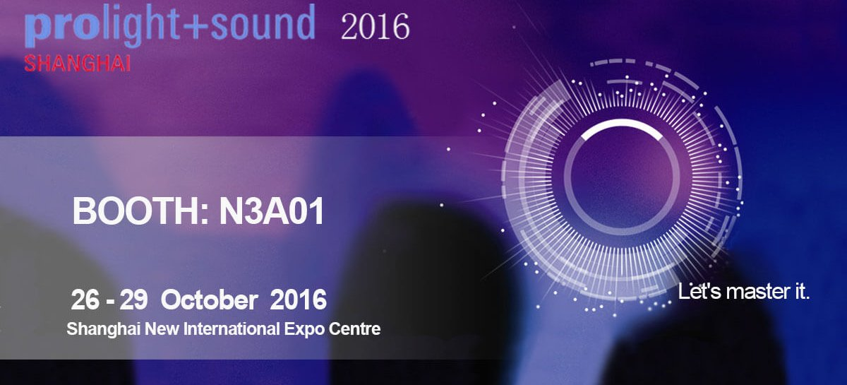 SAE Audio listo para Prolight + Sound 2016 Shanghai