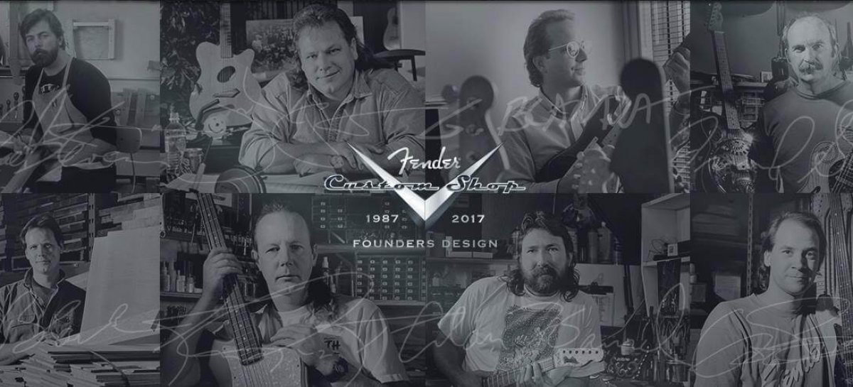 Fender Custom Shop celebra con su Founders Design Project