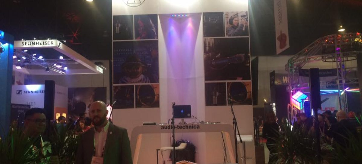 Audio-Technica presente en sound:check Xpo México
