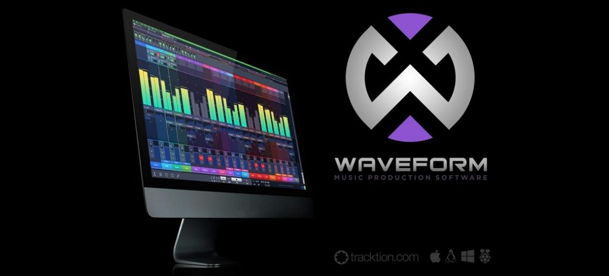 Tracktion lanza Waveform DAW