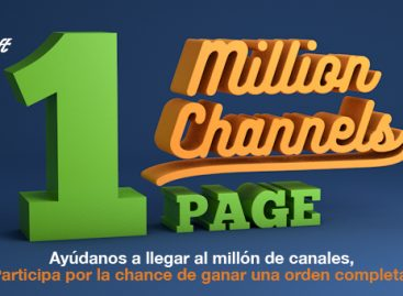 Powersoft se plantea una nueva meta con la Campaña One Million Channels