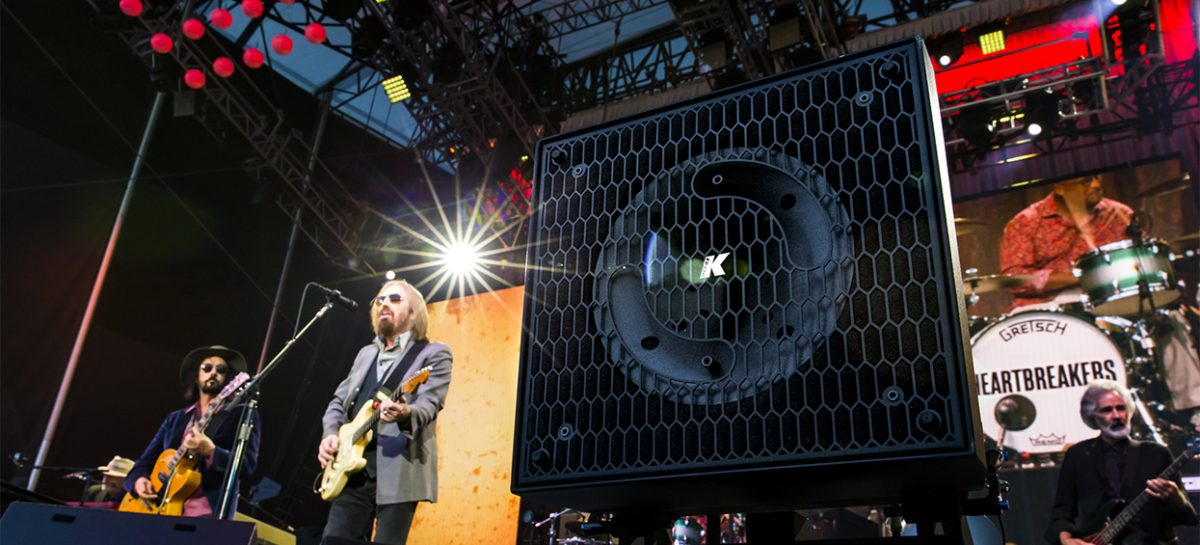 K-array brinda soluciones front fill para la gira de Tom Petty