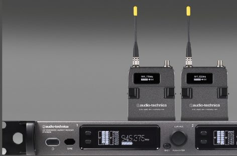 Disponible nuevo sistema inalámbrico de la serie 6000 de Audio-Technica