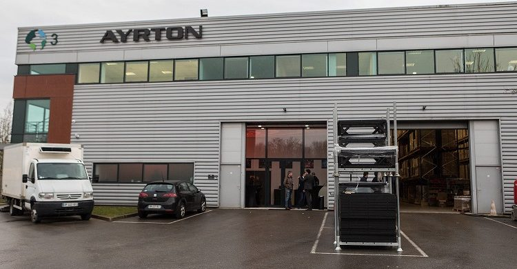 Ayrtons new head offices in Villebon Sur Yvette