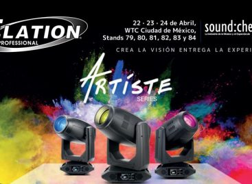 Elation Professional va México para sound:check Xpo