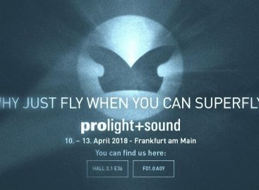 Prolight + Sound 2018: Superfly de Outline toma la feria