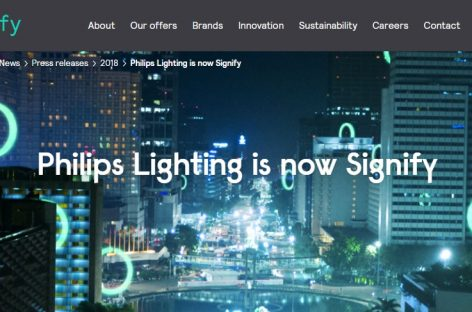Philips Lighting ahora es Signify