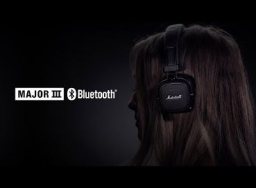 Nuevos audífonos Major III de Marshall Headphones