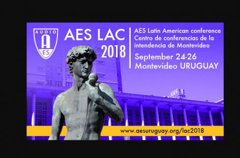 Conferencia latinoamericana de la Audio Engineering Society abre inscripciones