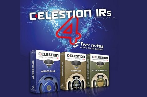 Altavoz Impulse Responses de Celestion, disponible en formato propietario Two notes