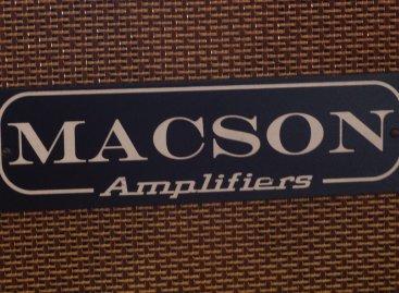Macson Amplifiers, es otra cosa