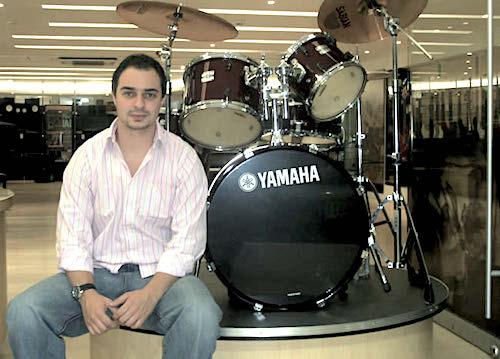 Santiago Aristizabal, de Yamaha Musical Colombia