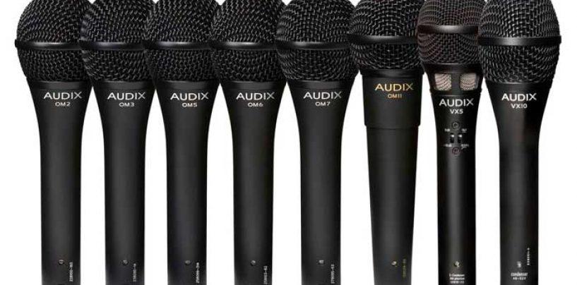 Nuevos distribuidores de micrófonos Audix en Latinoamérica