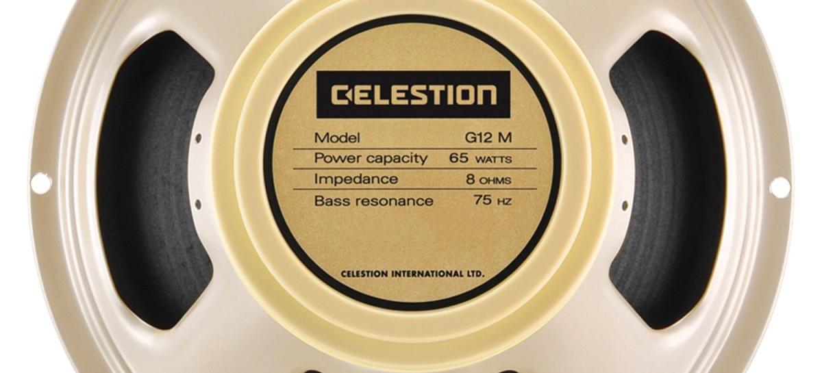 NAMM 2013: G12H-75 Creamback de Celestion