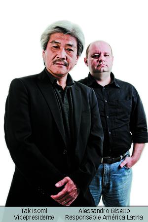 Tak Isomi e Alessandro Bisetto