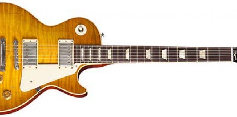 Anuncia Gibson el lanzamiento de la Les Paul Goldie