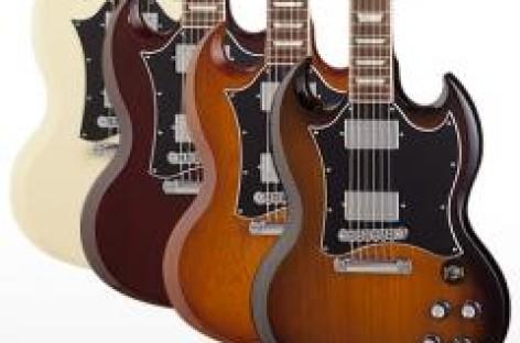 Presenta Gibson edición limitada de la guitarra SG