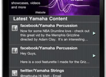 Yamaha Presente en Dispositivos Móviles
