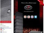 D.A.S Audio presente en las redes sociales