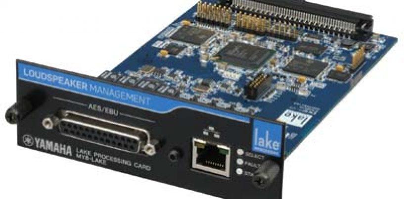 Yamaha y Lab.gruppen desarrollan la MY8-LAKE