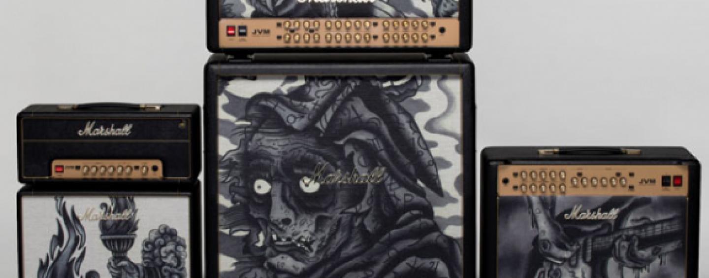 Marshall: Nueva serie de amplificadores Custom Shop Tattoo edición limitada