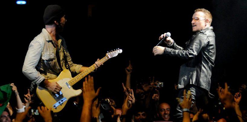 The Edge y Bono se unen a la Junta de Fender