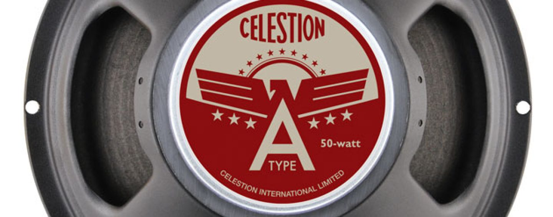 Nuevo altavoz para guitarra A-Type de Celestion