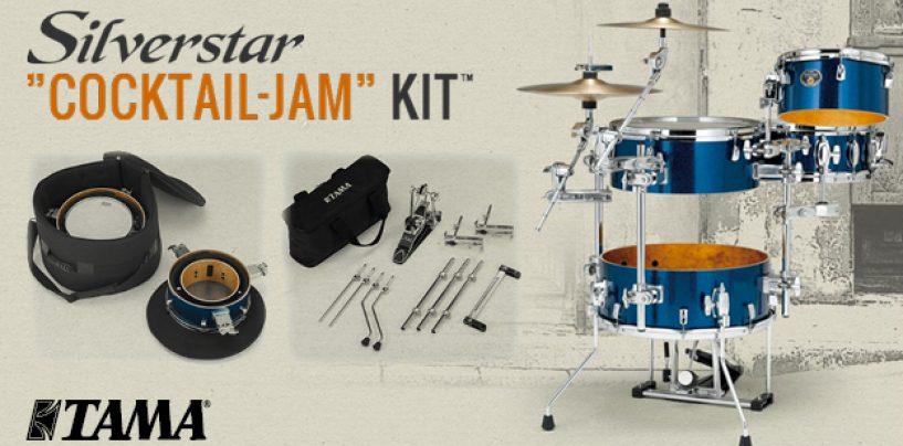 """Nuevo kit de batería """"Cocktail-JAM"""" de TAMA"""