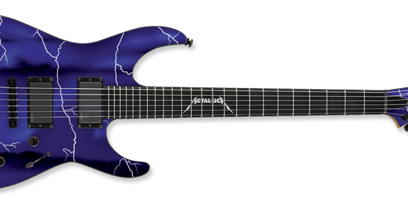 "Summer NAMM: ESP desvela la edición limitada de la guitarra LDT ""Ride the Lightning"""