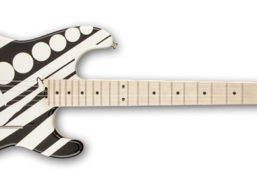 Nueva guitarra EVH modelo Circles de la serie Stripe