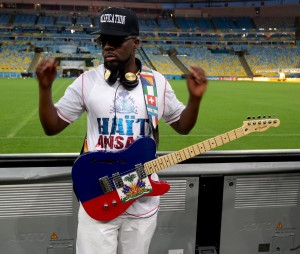 Fender Wyclef Jean World Cup Telecaster