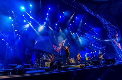 Robe iluminó a los Rolling Stones durante su más reciente gira.