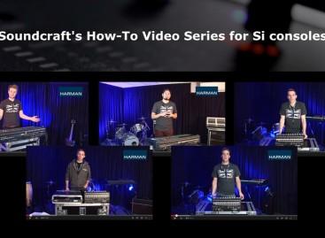 "Soundcraft lanza serie de videos en línea ""How To"""