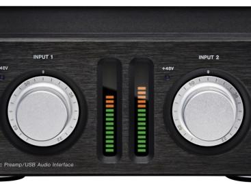 Nueva interfaz de audio para PC y preamplificador de micrófono UH-7000 de TASCAM