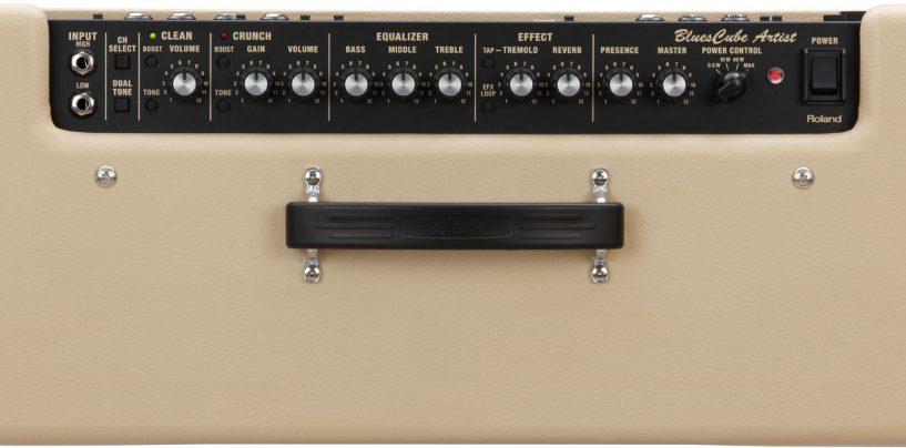 Nuevo combo amplificador para guitarras Blues Cube Artist de Roland