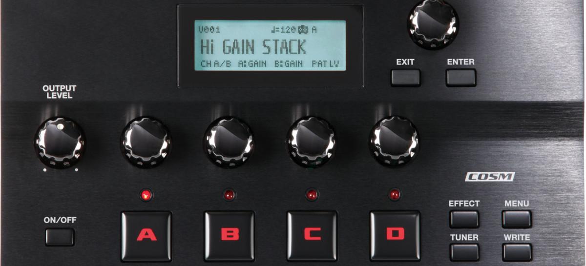 Procesador de efectos para guitarra GT-001 de BOSS