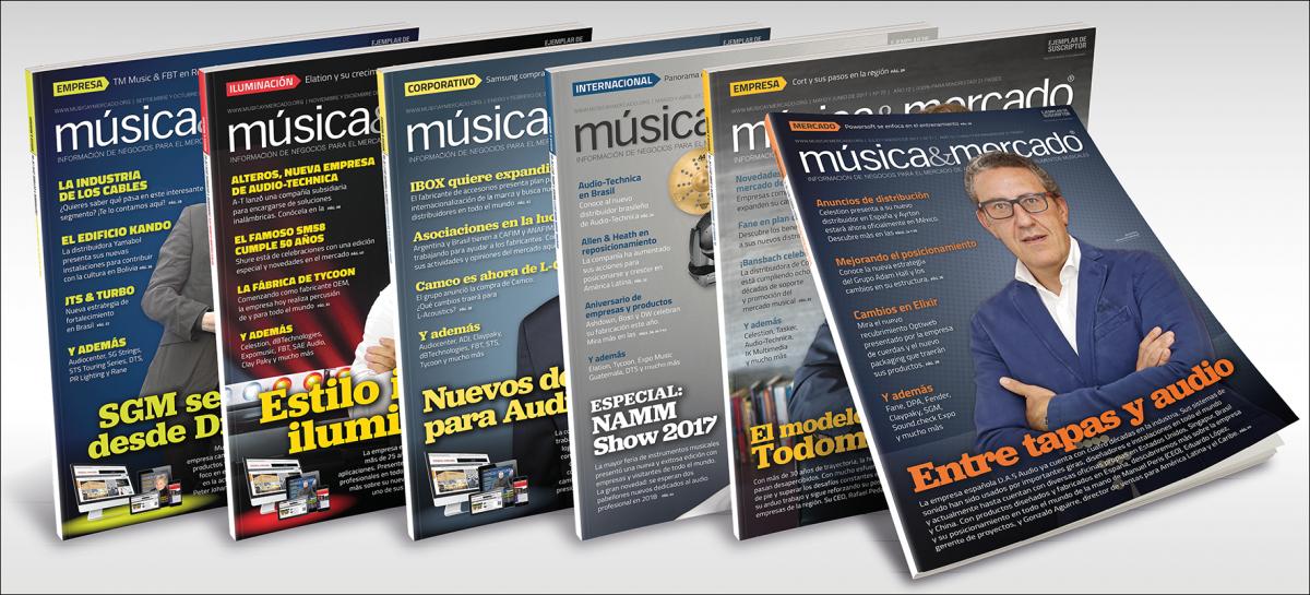 Suscríbase a la revista Música & Mercado