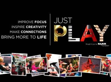 Bring More to Life es el nuevo anuncio de la campaña Just Play de NAMM Foundations